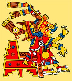 Pic 13: Xochiquetzal, goddess of beauty, fertility and human desire