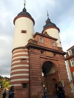 Brückentor, Heidelberg, Altstadt, Baden-Württemberg, Sehenswürdigkeit, Neckar