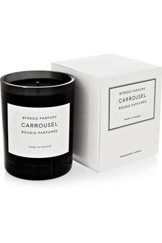 Byredocarrousel scented candle