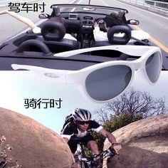 Polarized Sunglasses Bluetooth Smart Glasses with HI-FI Stereo Sound