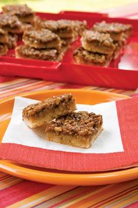 Paula Deen Best Ever Southern Pecan Pie Bars - Absolutely delectable!  I may never make pecan pie again, not to mention quick and easy.  One of my all time favorite recipes!
