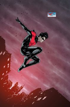 "marvel-dc-art: "" Nightwing art by Russell Dauterman "" Dc Comics Art, Marvel Dc Comics, Robin Comics, Marvel Vs, Batman Robin, Nightwing And Starfire, Richard Grayson, Nananana Batman, Hq Dc"