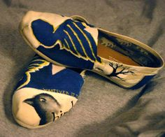 Louis Blues Toms, want these! Blue Toms, Hockey Season, Young Guns, St Louis Blues, Go Blue, Hockey Teams, Painted Shoes, Funny Cute, Cardinals