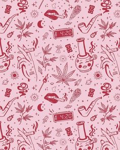 Dream wallpaper 😍 🎨 by Weed Backgrounds, Cute Wallpaper Backgrounds, Aesthetic Iphone Wallpaper, Cute Wallpapers, Aesthetic Wallpapers, Cannabis Wallpaper, Trippy Wallpaper, Smoke Weed Wallpaper, Weed Art