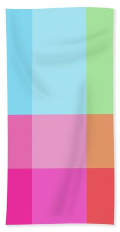 Geometry Beach Towel featuring the digital art Geometric Art 289 by Bill Owen