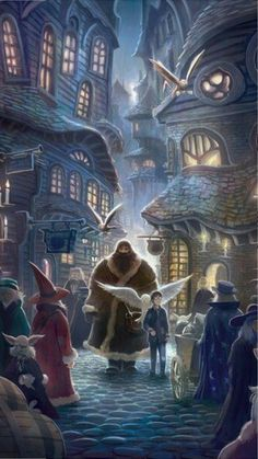 Hagrid takes harry potter with him to diagon ally for buying schoolbooks, a wand. harry potter received also a gift of hagrid, an owl. Harry Potter Tumblr, Harry Potter Fan Art, Fans D'harry Potter, Harry Potter Diagon Alley, Mundo Harry Potter, Images Harry Potter, Harry Potter Drawings, Harry Potter Books, Harry Potter Universal