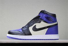 f1ce12999ce Men\'s Air Jordan 1 Retro High OG Court Purple/Sail-Black