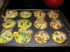 Sugaree Musings: Muffin Tin Dinner of the Breakfast Kind