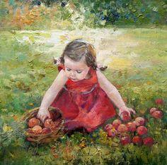 Морозова Инесса и ее картины детей