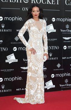 Fabulously Spotted: Selita Ebanks Wearing Valentino - Cash & Rocket: Gala Dinner & Auction - http://www.becauseiamfabulous.com/2014/06/selita-ebanks-wearing-valentino-cash-rocket-gala-dinner-auction/