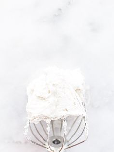 Basics: How To Make Coconut Whipped Cream   A simple vegan, paleo, refined-sugar free whipped cream using canned coconut milk. The perfect healthy non-dairy topping for desserts, hot chocolate, and more!   Honestly Nourished   www.honestlynourished.com