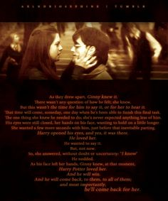 harry and ginny...