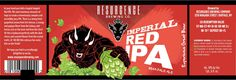 mybeerbuzz.com - Bringing Good Beers & Good People Together...: Resurgence Brewing - Imperial Red IPA Bottles