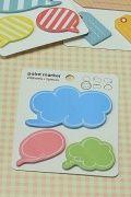 FREE SHIPPING - Kawaii Sticky Memo - Point Marker