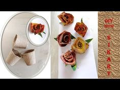 Hello everyone and welcome to a new video! Today's tutorial is about ``How to make roses from seedlings cardboard``. From the seedlings cardboard you can mak. How To Make Rose, Hello Everyone, Give It To Me, Make It Yourself, Ethnic Recipes, Youtube, Diy, Food, Bricolage