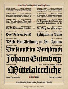 Font Alter Gotisch