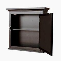@Overstock - Decorative and stylish, the classique medicine cabinet is the perfect addition to any bathroomCabinet showcases a chic, dark espresso finishMedicine cabinet is perfect for storing toiletries and other everyday essentials  http://www.overstock.com/Home-Garden/Classique-Espresso-Medicine-Cabinet/4566360/product.html?CID=214117 $63.00