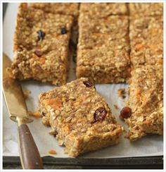 SWEET POTATO OAT BARS - The Eat-Clean Diet®...Rad site!