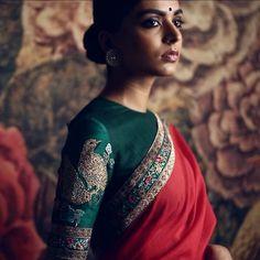 #Sabyasachi #SummerSaris #BenarasHandlooms #RevivingBenaras #MadeInIndia #TheWorldOfSabyasachi #Jewellery by @kishandasjewellery #KishandasForSabyasachi