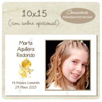 Tarjetón Montaje Fotográfico 10x15cm - C06053MF1015 Frame, Home Decor, Signature Book, First Holy Communion, Invitations, Picture Frame, Decoration Home, Room Decor, Frames
