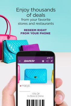 Download the FREE RetailMeNot app today!