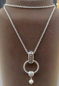 Pandora Necklace with a Clip Lock