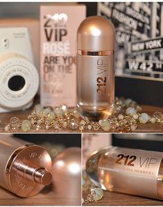 Perfume 212 Vip Rose Leia resenha completa no blog