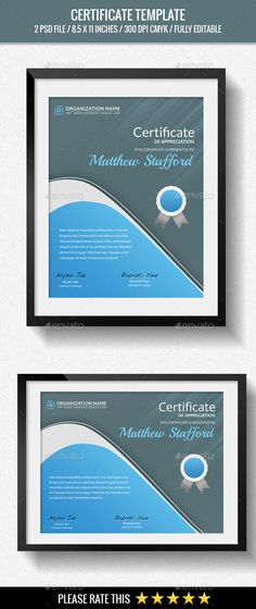 Multipurpose Certificates - Certificate Template PSD. Download here: http://graphicriver.net/item/multipurpose-certificates/14206534?s_rank=84&ref=yinkira
