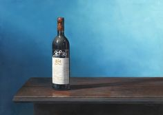 'Château Mouton Rothschild' Oil on Canvas: 50 x 70 cm Signed by Brian Davies (1942 - 2014)