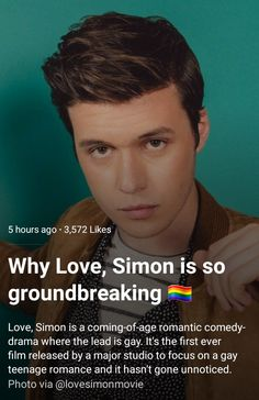 Love Simon Movie, Lgbt, Jacques A Dit, Simon Spier, Becky Albertalli, Best Movie Quotes, Nick Robinson, Rainbow Rowell, And So It Begins