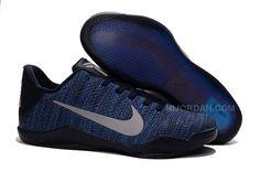 check out 3e4fe 7bc97 Hot Sale Style Nike Kobe 11 Dark Blue Silver, Price   95.00 - Air Jordan  Shoes, Michael Jordan Shoes