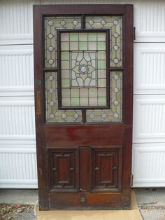 English Stained Glass Entry | Recycling the Past - Architectural Salvage