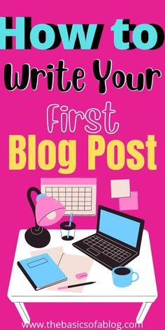 blogging for beginners, blogging, blogging tips, blog posts ideas, blog topics, blogging for beginners ideas, blogging for money, blogging ideas, blogging 101 Blogging For Beginners, Blogging Ideas, First Blog Post, Blog Topics, Creating A Blog, Writing, Posts, Money, Tips