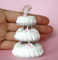 PetitPlat Handmade Miniature Food: cakes