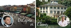 DiCaprio vs. Clooney: wint het Comomeer of toch Verona? - Charme & Quality