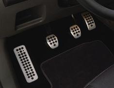 Urheilulliset poljinpinnat alumiini - Ford-lisävarusteisiin Ford Focus, Ranger, Mustang, Lifestyle, Party, Mustangs, Mustang Cars