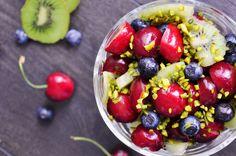 Antioxidant Cherry Salad #vegetarian #vegan #foodforthought