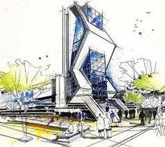 Risultati immagini per sketch architecture