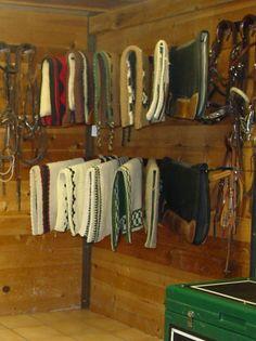 CharlesTackRoom04 100 dollar blanket rack for pads for winter horse blankets