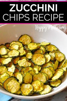 Learn how to make the best dehydrated Zucchini Chips with a vegan cheesy garlic seasoning in this easy dehydrator recipe. These crispy veggie chips are healthy compared to fried snacks and kids gobble them up! Forget kale chips - dehydrate zucchini from your garden or CSA box! #zucchinichips #zucchinirecipes #zucchini #dehydrator #dehyrated #dehydratorrecipes #dehydratedzucchini #easyrecipes #healthyrecipes #healthysnacks #snackideas #veggiechips #kidfriendly #glutenfree #dairyfree #vegan… Dehydrated Zucchini Chips, Zucchini Chips Recipe, Veggie Chips, Kale Chips, Vegan Zucchini, Dehydrated Food, Zucchini Slice, Corn Chips, Veggie Recipes
