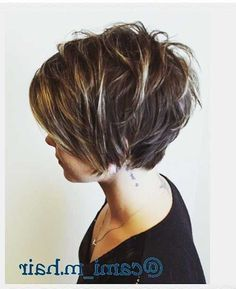 for Short textured women haircut