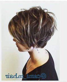 textured haircut for women Short