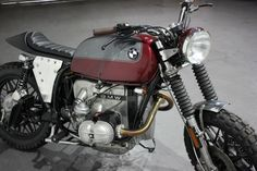 "Racing Cafè: Bmw R100 Scrambler ""Siren!"" by Kevils Speed Shop"