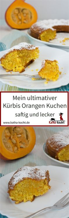 Der wohl beste Kürbis-Orangen Kuchen aller Zeiten - super saftig, super lecker und außerdem noch ganz einfach gemacht. Eines meiner absoluten Lieblingsrezepte auf katha-kocht!