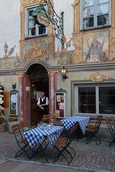 Bavarian Gemuetlichkeit by Raphael Bick on Flickr - Mittenwald, Bavaria, Germany