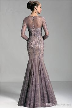 2019 Mermaid Mother Of The Bride Dresses Jewel Neck Lace Appliques Beaded Illusion Long Sleeves Plus Size Evening Dress Wedding Guest Dress Evening Dresses Online Shopping, Women's Evening Dresses, Mother Of The Bride Dresses Long, Mothers Dresses, Wedding Party Dresses, Bridal Dresses, Coral Dress, Dress Lace, Lace Dresses
