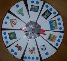 * Draai aan de carrousel, klap het aantal lettergrepen.  Dit kan je in ieder thema inzetten!