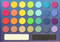 July In The Sky, mon blog Beauté et Photo : BH Cosmetics : la palette Take Me To Brazil