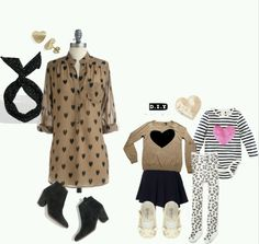 Cute mommy daughter outfits