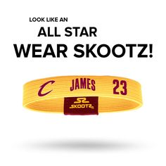 Shop for NBA wristbands and fan gear. Find your teams NBA bracelets and gear today! www.SkootZ.com